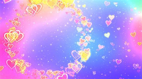 colorful love wallpaper hd wallpaper love hearts abstract colorful 4k love 6297