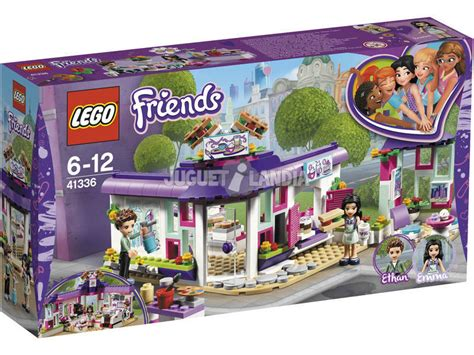 Lego Friends Valencia acheter lego friends caf 233 des arts de 41336