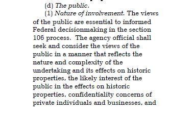 section 106 regulations northern pass historical impact a dispute over