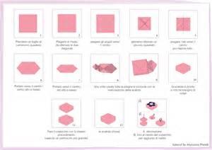 origami fiori istruzioni origami per bomboniere fai da te partecipazioni e inviti