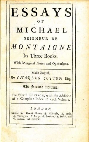 Montaigne Essays Sparknotes by Montaigne Essays Sparknotes Of Cannibals Essay Montaigne Ayucar