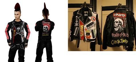 punk jacket v3 by crowhitewolf on deviantart