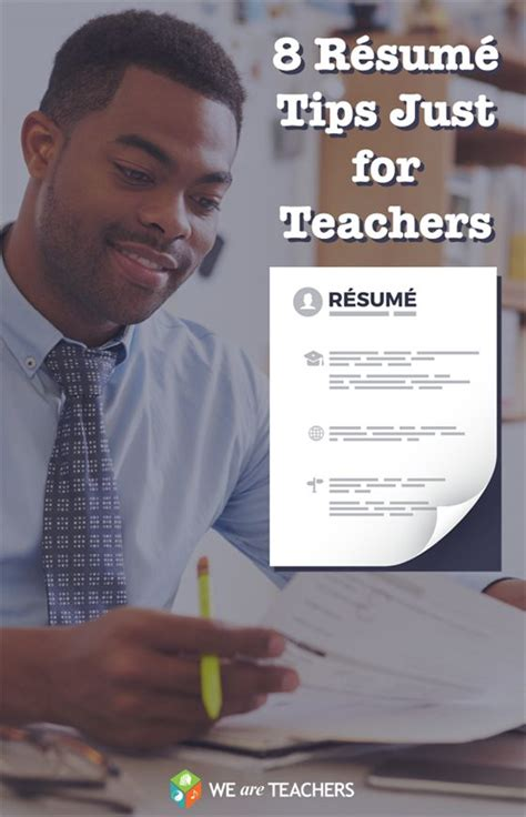 8 r 233 sum 233 tips just for teachers posts resume tips and