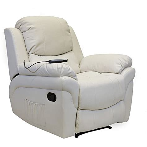 cream leather recliner chair best cream leather recliner massage chairs footstools