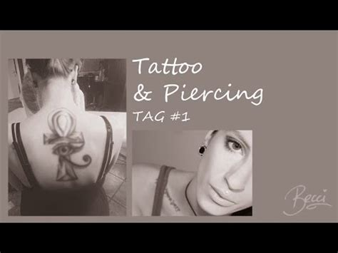 tattoo tag youtube questions beccis tattoo piercing tag 1 becci undpunkt youtube