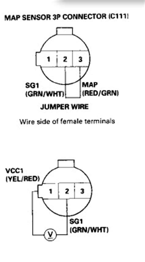 honda map sensor wiring diagram 31 wiring diagram images