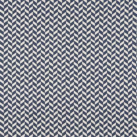 designer upholstery fabric by the yard a0004e blue off white herringbone check designer