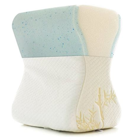 Knee Pillow For Hip by Milliard Gel Memory Foam Leg Knee Pillow Back Hip