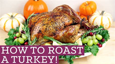 How To Make A Thanksgiving Turkey Out Of Construction Paper - how to cook a roast turkey thanksgiving made easy for