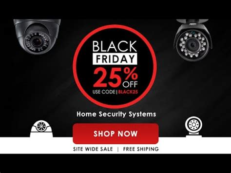 lorex black friday deals on security camera systems youtube