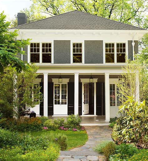 home exterior design with pillars exterior columns transitional home exterior donald