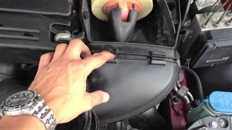 mercedes   air filter intake replacement youtube