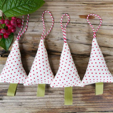 Handmade Tree Ideas - handmade tree decorations by macey