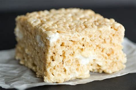 ultimate bakery style rice krispies treats brown eyed baker