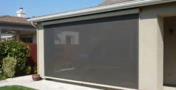awnings patio covers screens drop shades by all about shade