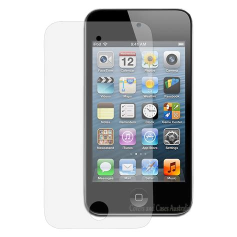 Ipod Touch 4 3 x clear lcd screen protector for apple ipod touch 4