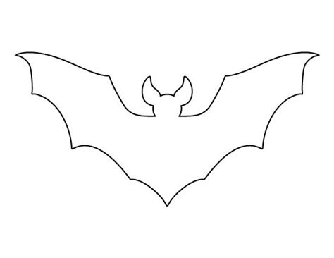 bat template printable best 25 bat template ideas on