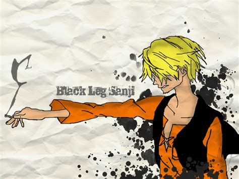 wallpaper one piece hitam putih gambar one piece sanji si kaki hitam wallpaper gambar naruto
