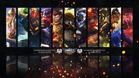 karakter gamers  dilihat  role hero mobile legends  dikuasainya indoesports