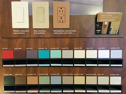 lutron colors lutron 174 color sles to go fixtures up retail pop