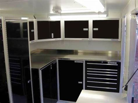 lightweight cabinets for trailers lightweight aluminum trailer cabinets tools organization