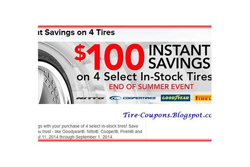 discount tires deals coupons