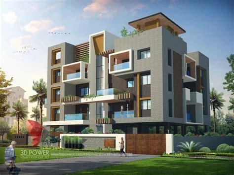 Corporate Building Design 3D Rendering: Corporate Building Elevation Building Designs