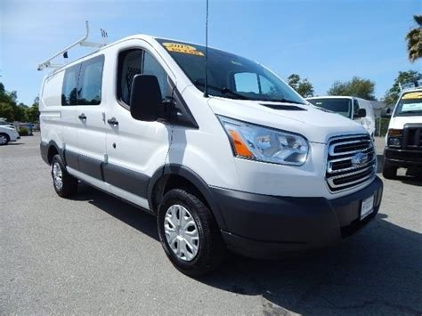 2015 Ford Transit 250 Cargo by Used 2015 Ford Transit 250 Cargo Low Roof Bin Package