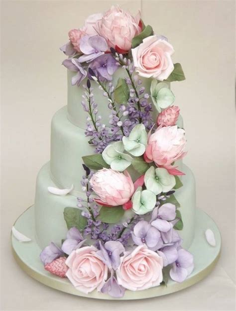 Sugar Wedding Cake Flowers by 13 Inspiring Sugar Flower Wedding Cakes