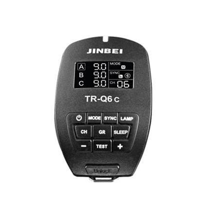 Jinbei Tr 612nikon jinbei tr q6 smart bluetooth trigger sony nikon ve canon uyumlu paraflaş deposu