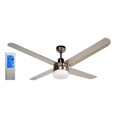 56 Inch Ceiling Fan With Light by Blizzard 4 Blade 56 Inch 316 Marine Grade Stainless Steel