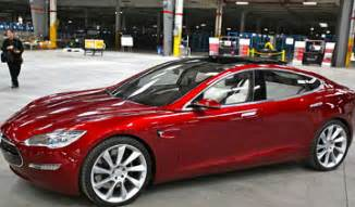 Electric Car Tesla Canada Tesla Ships All Aluminum Model S Canadian