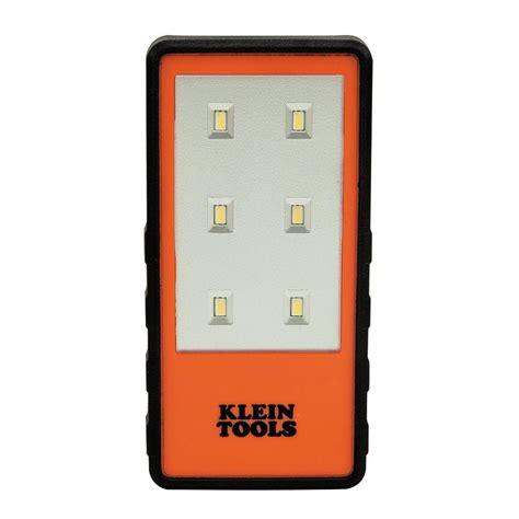 orange lights home depot klein tools clip light orange 56221 the home depot