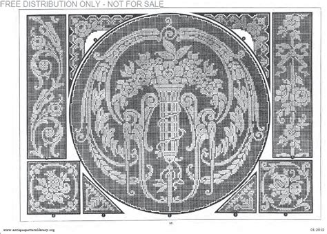 antique pattern library password apl b af003 filet ancien au point de reprise xii le page 10