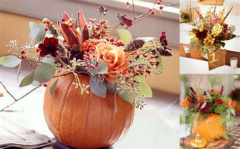 Fall Wedding Ideas To Make Everyone Fall In Love With Your Fall Themed Centerpieces