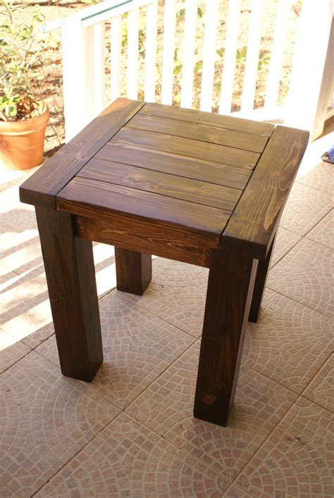 ana white  tryde side table diy projects