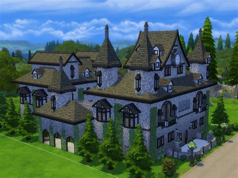 sims 4 medieval castle tatyananame s windenburg castle no cc