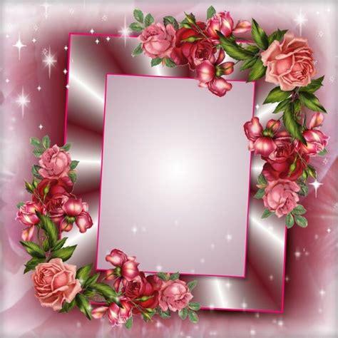 Frame Photo Meja Cantik Bunga Pink wallpaper bunga frame studio design gallery best design