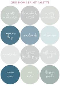 color palette for home creating a smooth flowing color palette in your home i
