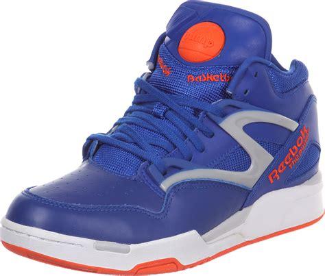 reebok pumps sneakers reebok omni lite shoes blue orange