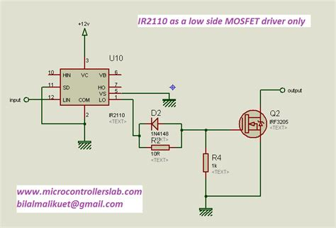 transistor mosfet gate driver how to use mosfet driver 1r2110