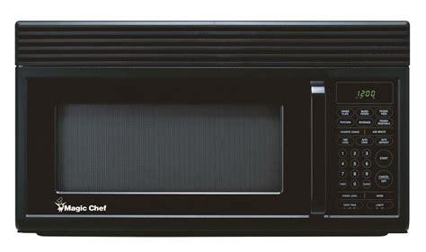 1 6 cu ft the range microwave black magic chef 1 6 cu ft the range microwave in black