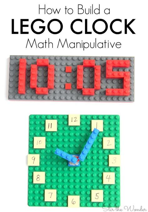 printable clock manipulative 1000 images about hands on math on pinterest