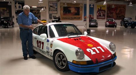 magnus walker garage magnus walker brings his 911t to jay leno s garage video