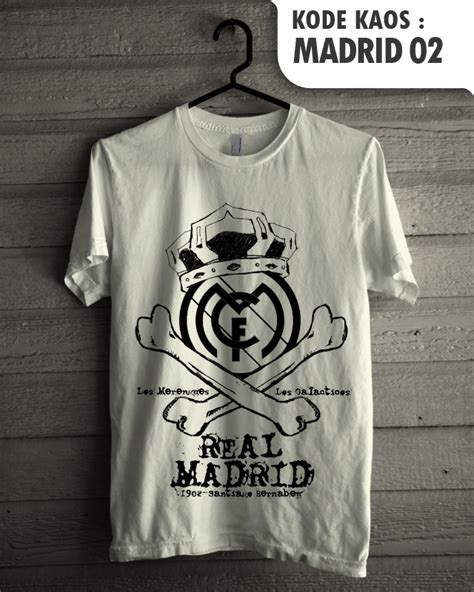 Kaos Distro Real Madrid Fans jual real madrid fans baju sepakbola kaos distro klub tim
