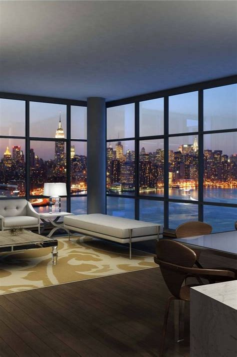 new york apartment window untitled via image by floor to ceiling windows with a bright panoramic view i