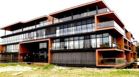 Island House Plans Modern Apartment Complex In Rotterdam Netherlands