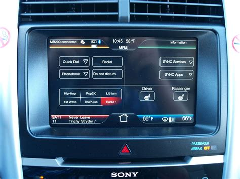ford touch screen myford touch