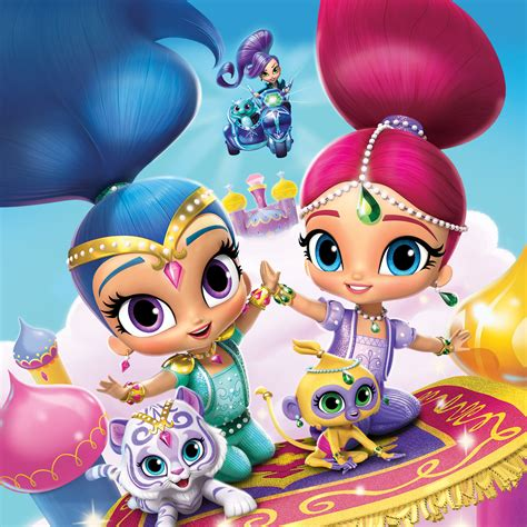 happy birthday to you shimmer and shine step into reading books a magical summer of shimmer and shine birthdays
