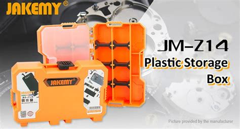 Jakemy Customizable Storage Container Box Jm Pj2002 14 36 jakemy jm z14 multifunctional plastic storage box authentic 3kg bearing weight at